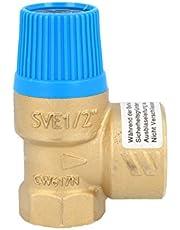 """Membraan veiligheidsventiel voor gesloten waterverwarmer conform DIN 4753, 4 bar, tot 75 kW, E 1/2"""" - A 3/4 inch"""