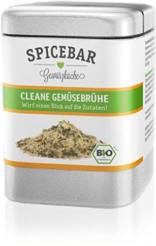 Cleane Gemüsebrühe in Bio Qualität - Wirf ein Blick auf die Zutaten! (Brühe)