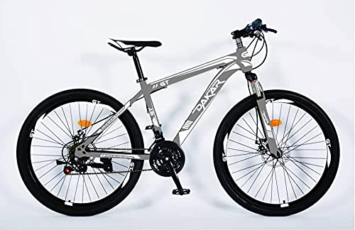 Dakar Gt Adult Mountain Bike, 27.5-Inch Wheels, Mens, Womens Kids18-Inch Steel Frame, 21 Speed, Disc Brakes