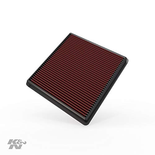 K&N Engine Air Filter: High Performance, Premium, Washable, Replacement Filter: 2007-2019 Ford/Lincoln Truck and SUV (F150, F150 Raptor, Expedition, Navigator, F250, F350, F450, F550, F650), 33-2385