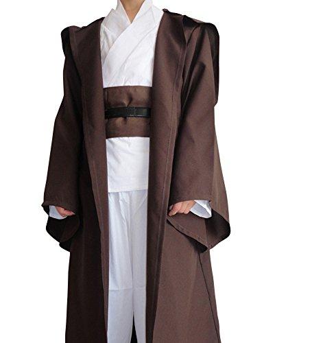 shoperama Obi-Wan Kenobi UMHANG für Star Wars Herren-Kostüm, Größe:XXL