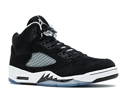 Nike Air Jordan 5 Retro 'Oreo' Black White Trainer Size 12 UK