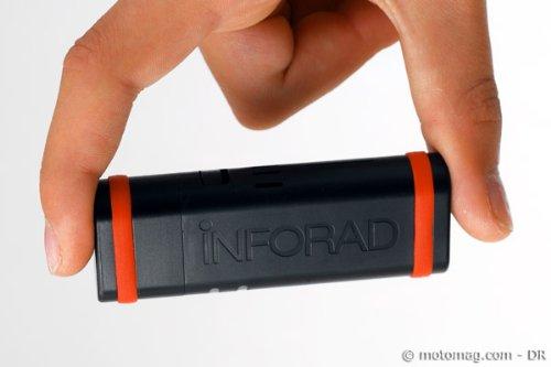 Inforad K3 - Asistente de ayuda a la conducción para GPS, color negro (Importado)