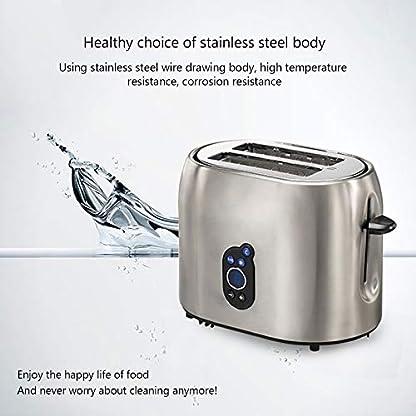Mini-Toaster–2-Scheiben-Edelstahl-14-Zoll-extra-breite-Schlitze-Abnehmbare-Toaster-mit-Kruemelablage–LED-Anzeige-9-Schatteneinstellungen-Abtauen-Aufwaermen-Abbrechen-Funktion-Toaster
