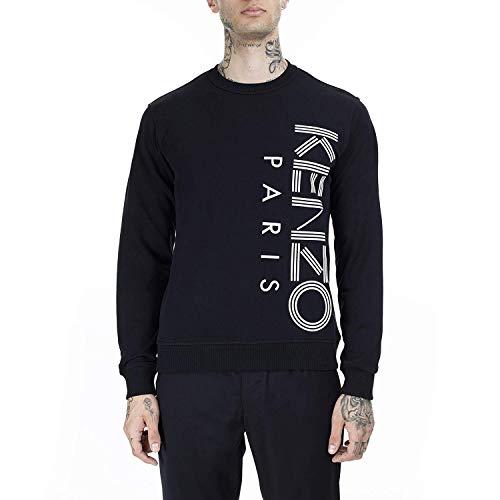 Kenzo 5SW132 Herren Sweatshirt in Schwarz Gr. Small, Schwarz