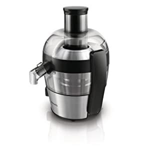 Philips HR1836/01 Viva Collection Compact Juicer, 1.5 Litre, 500 Watt – Brushed Aluminium by Philips