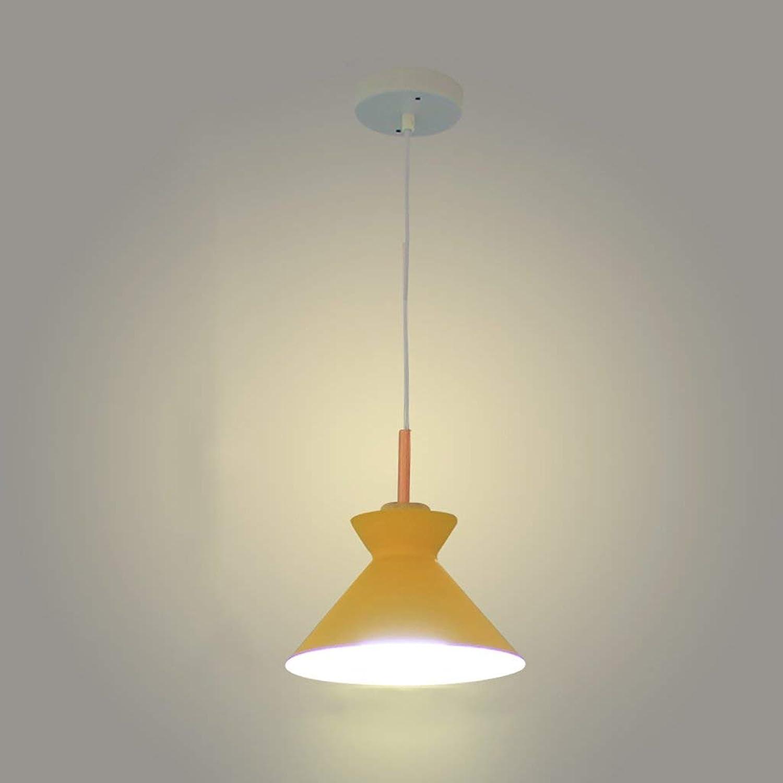 BDYJY Pendelleuchten Macaron Eisen Licht Einfache Wohnzimmer Beleuchtung Kreative Kronleuchter 3 Kpfe Persnlichkeit Moderne Beleuchtung, E27, B