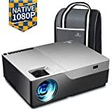 VANKYO Performance V600 Beamer, 6000 Lumen Full HD Beamer, Native 1080P(1920 x 1080) Video Beamer Heimkino mit 300' Display, unterstützt HDMI USB VGA TV Stick Xbox Laptop Smartphone, für...