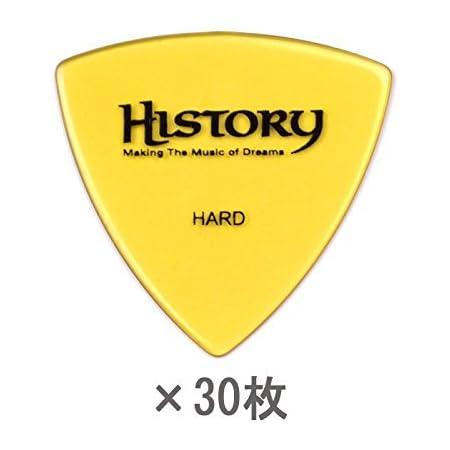 HISTORY HP1H HARD ピック 30枚セット おにぎり(トライアングル)型 (ヒストリー)