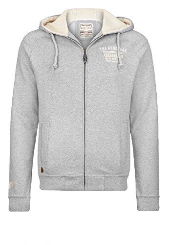 Goodyear Fashion Herren Toledo Sweatjacke, Marl Grey, S