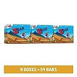 Clif Kid Zbar - Organic Granola Bars – Bulk Snacks - Caramel Chocolate (12 Packs, 72 Total Granola Bars)