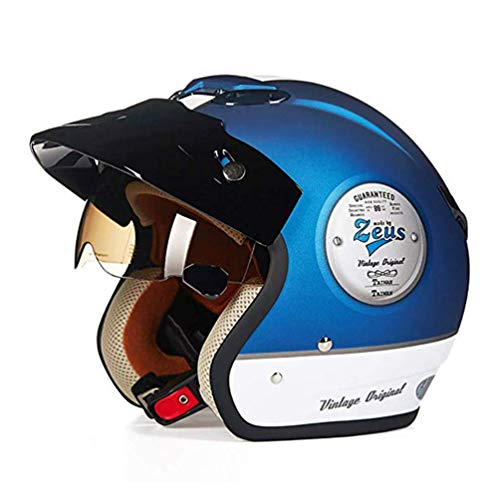 XGYUII Flip up Motorfiets Helm Volwassen Fietshelm Specialized for Men Vrouwen Veiligheid Bescherming Sport Helm