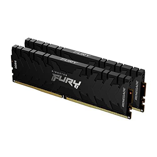 Kingston FURY Renegade 64GB 2x32GB 3200MHz DDR4 CL16 Mémoire Kit pour PC Kit de 2 KF432C16RBK2/64
