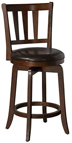 Hillsdale Furniture Presque Isle Swivel Counter Height Stool, Cherry