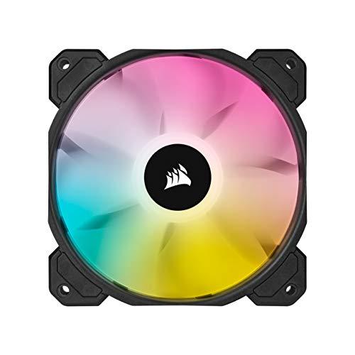 Corsair iCUE SP120 RGB ELITE Ventilador RGB 120mm PWM, Paquete Individual