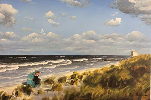 Kunstverlag Christoph Falk Strand mit Strandkorb 2 von Jan Hansen