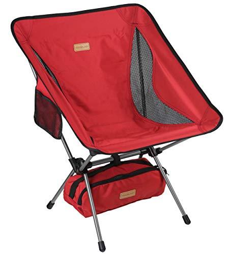 Trekology YIZI GO Silla de camping portátil – Silla plegable ultraligera compacta, plegable, plegable, plegable, ligera, en una bolsa para exteriores, campamento, picnic, senderismo