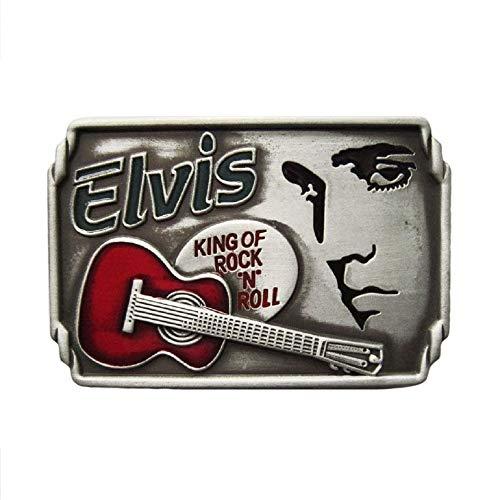 eeddoo® Gürtelschnalle - Elvis - King of Rock n Roll