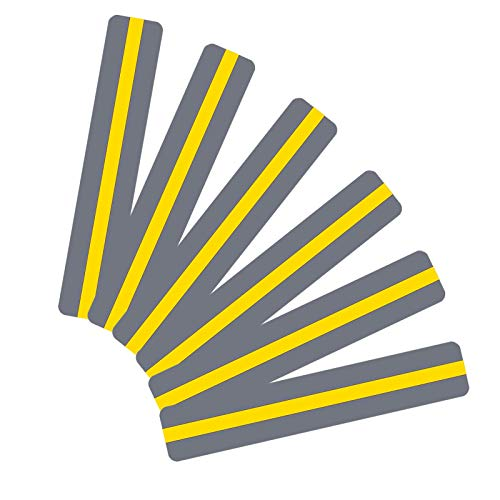 18 Pack Reading Guide Strips Colored Yellow Overlay Highlight Bookmarks Reading Strips Help with Dyslexia for Crystal Children and Teacher Supply
