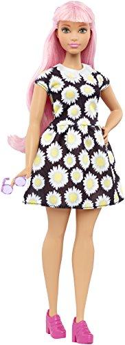 Barbie - Fashionista, muñeca con Vestido Daisy (DVX70)