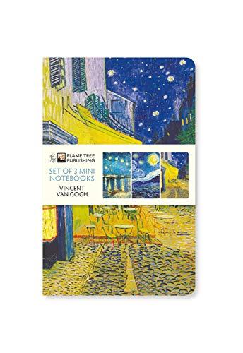 Dreier Set Mini-Notizbücher: Vincent van Gogh: Unser beliebten Mini-Notizbücher im 3er-Pack mit flexiblen, künstlerisch gestalteten Einbänden mit ... des Künstlers (Mini-Notizbücher (3er-Pack))
