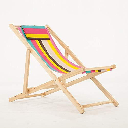 Chaise Pliante en Plein air Fauteuil Lounge Chaise de Plage Toile Chaise de Piscine Chaise de Salon Balcon,b