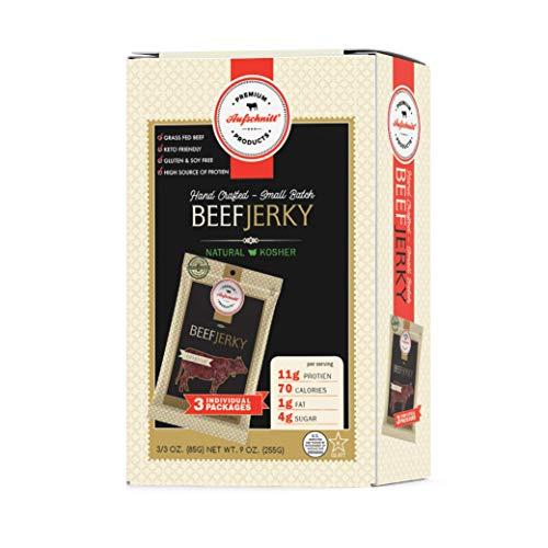 Aufschnitt Beef Jerky Original Flavor - 3 Pack (3 Oz Each) |...