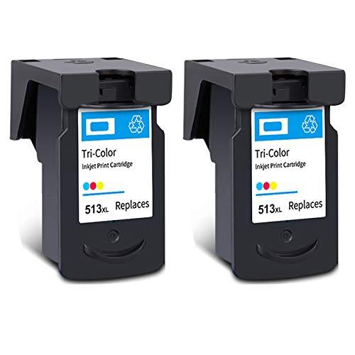 Cartucho de tinta PG-512XL CL-513XL, de alto rendimiento para impresora Canon Pixma MX 320 330 340 410 IP2700 IP2702 MP 230 240 260 272 negro y tricolor 2 tricolor