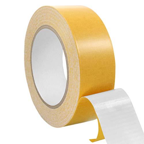 Teppichklebeband doppelseitig | Teppichverlegeband | Beidseitig stark klebend | Verschiedene Breiten, 25 m auf Rolle || 19 mm x 25 m