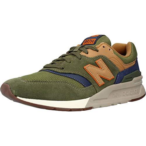 New Balance Zapatillas para Hombre CM997HFU_45,5, Color Verde, Talla 45,5 EU