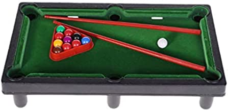 SODIAL Mini Desktop Billiards Toy Outdoor Games Mini Tabletop Whole Family Pool Set Parent-Child Interaction Kids Toy