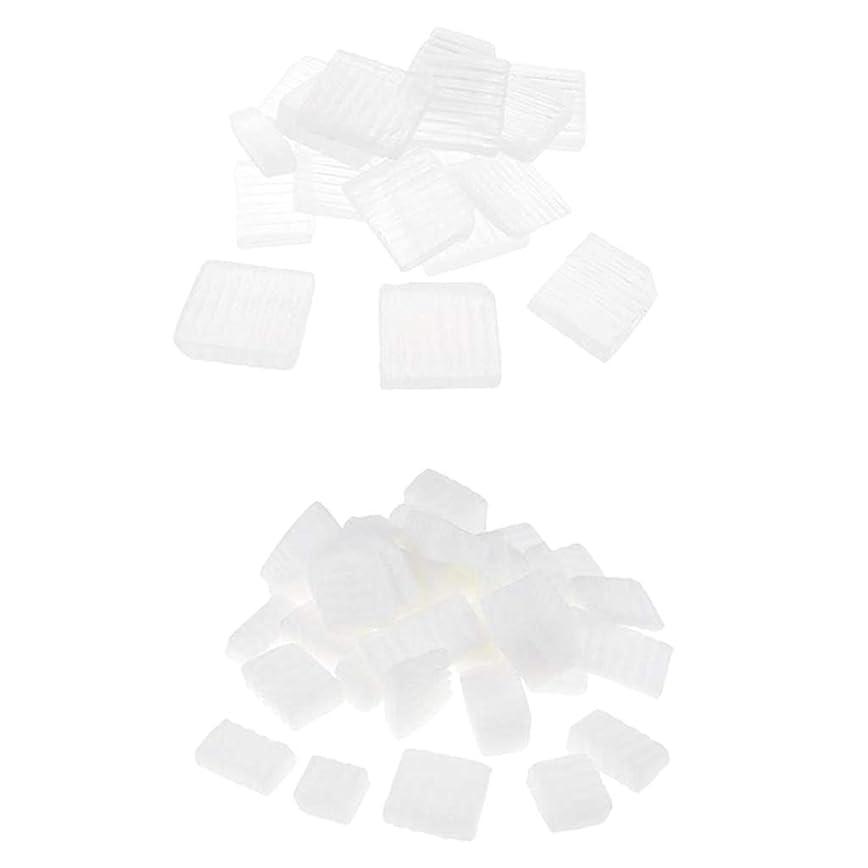 振り向くペナルティ想定Baoblaze 固形せっけん 2KG 2種 ホワイト 透明 DIYハンドメイド ソープ原料 石鹸製造 古典的