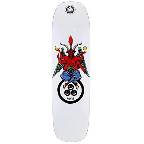 Welcome Skateboard Deck Ryan Lay Bapholit Stonecipher, Farben:White, Größe:8.6