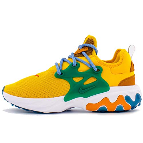 Nike W React Presto Cd9015-701 para Mujer, Amarillo (University Gold/Habanero-Mystic Green), 36 EU