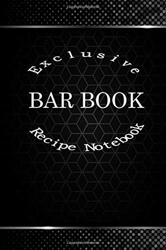Exclusive Bar Book: Recipe Notebook