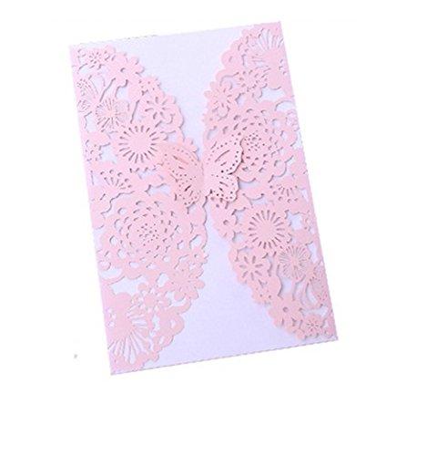 50 x Namgiy biglietti di auguri carta regalo per anniversario invito wedding Love Gifts 12 x 18 cm 12 * 18cm Style G