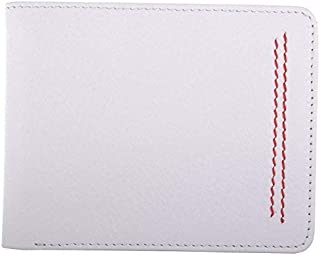 RL White Red Men's Wallet (W37-WH-RD)