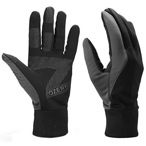 OZERO warme Handschuhe, Damen Wasserabweisende und Winddichte Thermo-Winterhandschuhe zum Laufen, Fahren, Laufen und Radfahren, 1 Paar