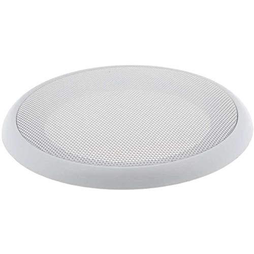 Yuyanshop 6.5 pulgadas parrilla de altavoz cubierta caso con 4 piezas tornillos para montaje de altavoz hogar audio DIY blanco
