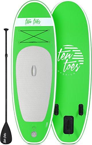 Retrospec Weekender 10' Inflatable Stand Up Paddleboard Bundle w/...