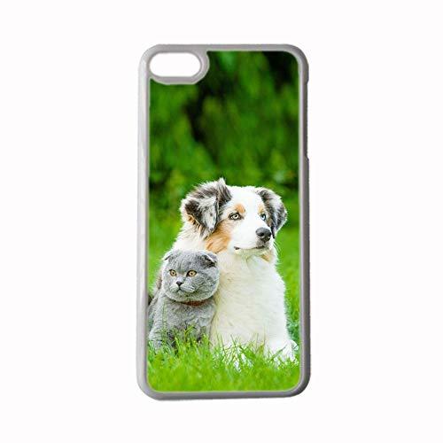 Gogh Yeah para Hombre Bien Compatible con Apple iPhone 7 P/ 8 P Conchas De Plástico Duro Imprimir con Pet Dog Choose Design 118-1