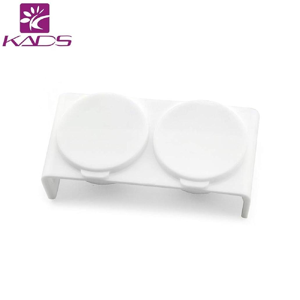 簡潔なのヒープ行政KADSポリッシュリムーバーカップ ネイルアートアクリルカップ プラスチック製ネイルアート