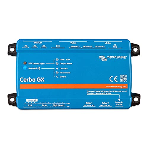 Victron Energy Cerbo GX, Panels and System Monitoring