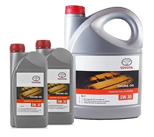 Genuine 7 litros aceite de motor 5W30 PFE sintético 08880-83389 Acea C2
