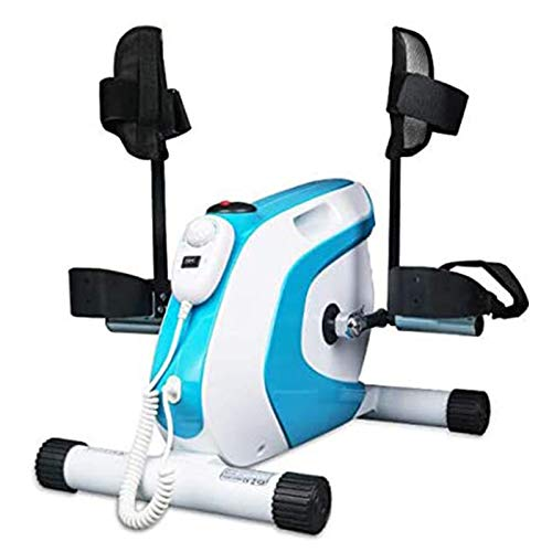 LOVEHOUGE Motorised Pedal Exerciser,Mini Exercise Bike,Arm And Leg Trainer with LCD Display,Ideal Training Device for Seniors And Athletes