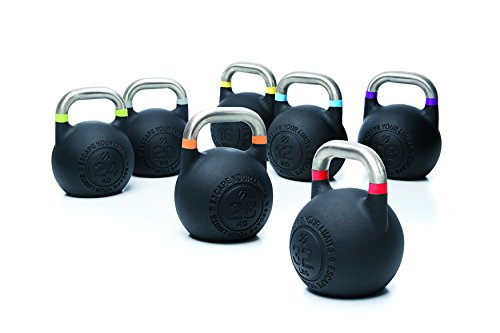 Escape Fitness USA CKB24 Kettlebell Competition Pro, Grün, 24 kg