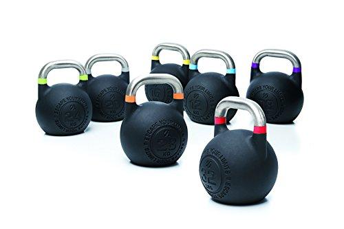 ESCAPE Competition Pro Kettlebell 2.0-8kg bis 28kg, einzeln (24kg)