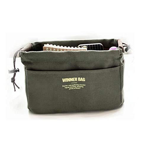 Wxianmy Bolsa de cosméticos simple multifunción, bolsa de almacenamiento de gran capacidad, bolsa de aseo portátil para mujeres y niñas, regalo de viaje a casa