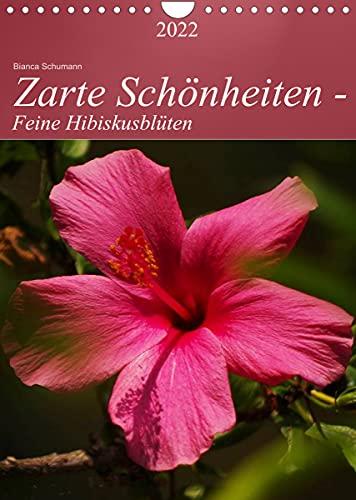 Zarte Schönheiten - Feine HibiskusblütenAT-Version (Wandkalender 2022 DIN A4 hoch)