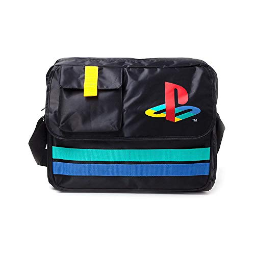 Difuzed Playstation Retro Logo Messenger Bag 35 cm schwarz